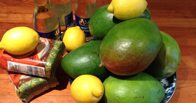 Mango And Lemon Chutney A Perfect Preserve Thane Prince